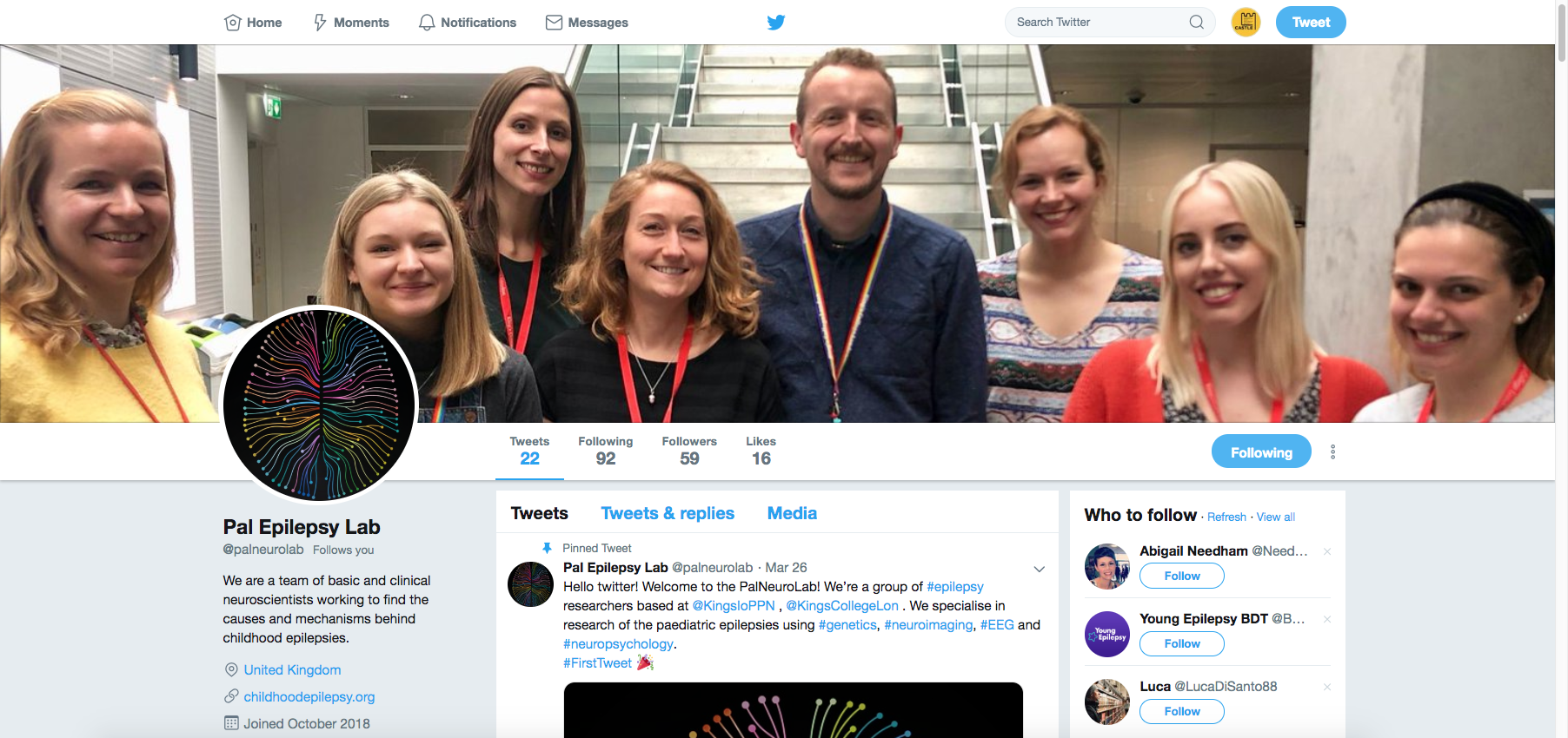 @PalNeuroLab is now live on twitter!